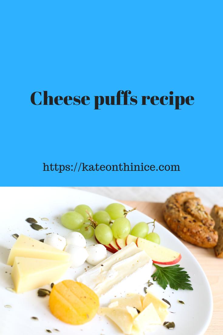 Cheese Puffs Recipe