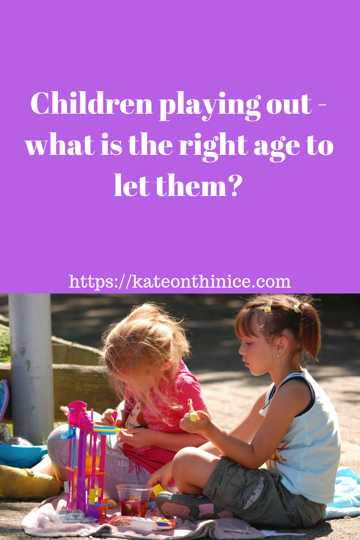 Children Playing Out - What Is The Right Age To Let Them?