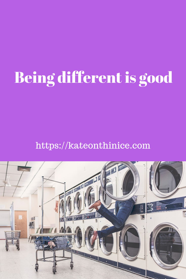 Being Different Is Good