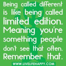 differnt