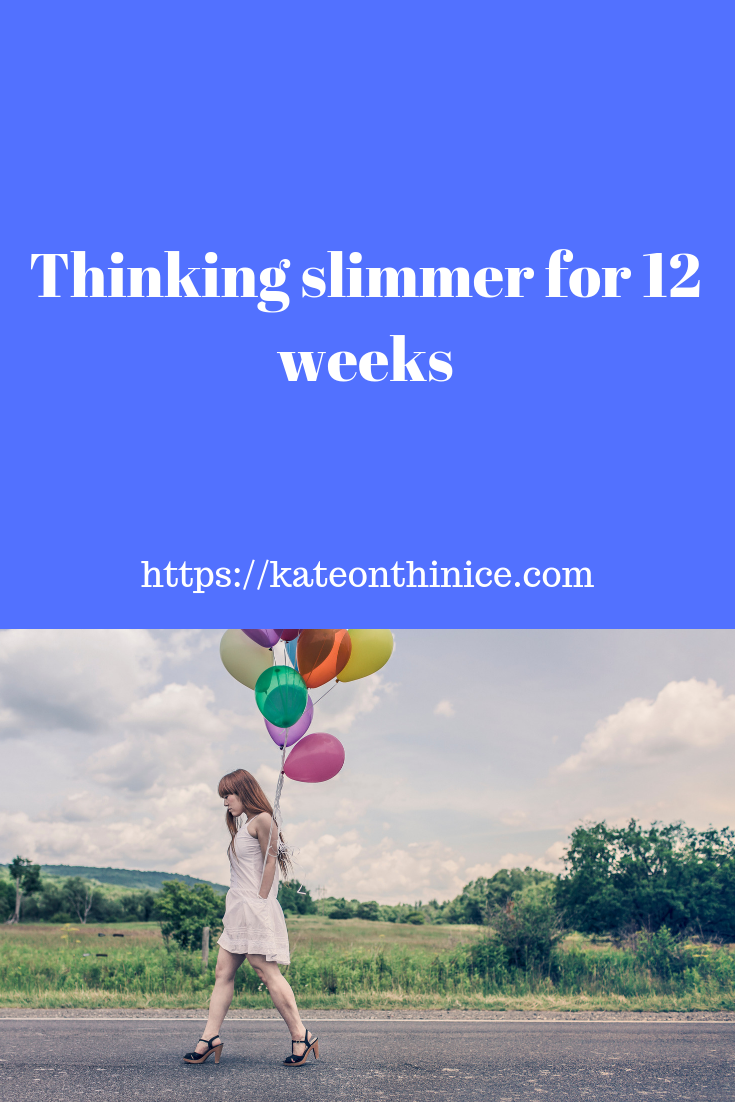 Thinking Slimmer For 12 Weeks