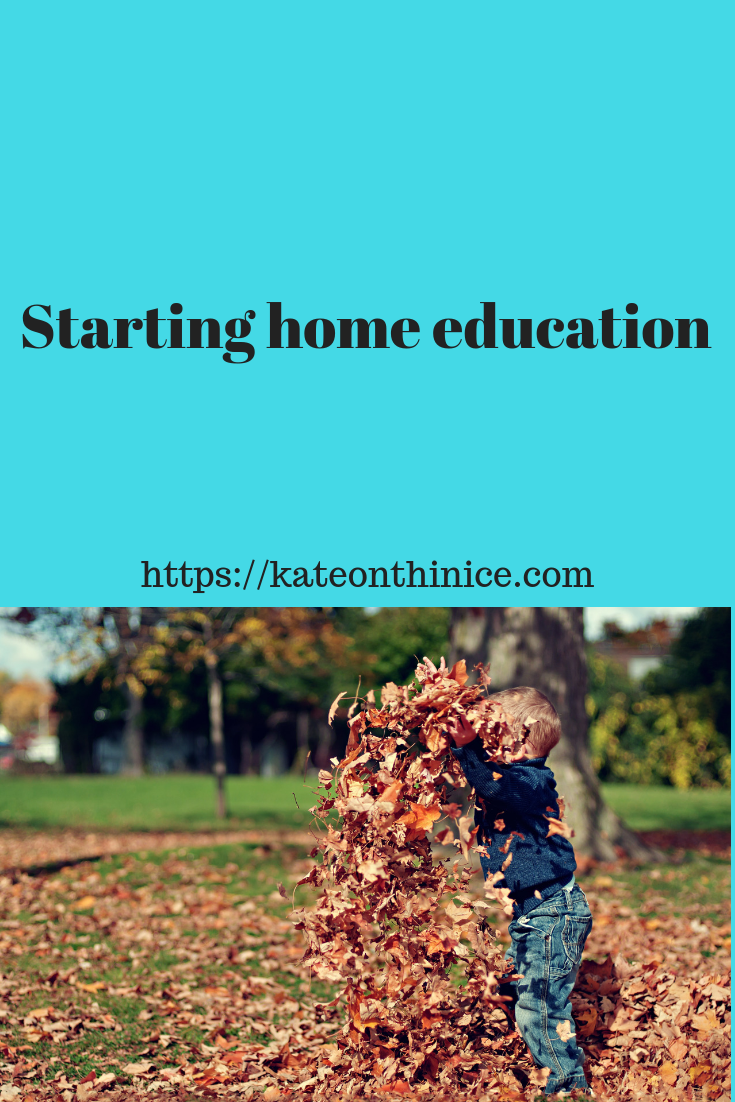 Starting Home Education
