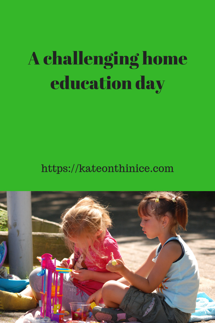 A Challenging Home Education Day