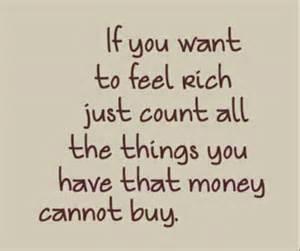 I am a rich woman!