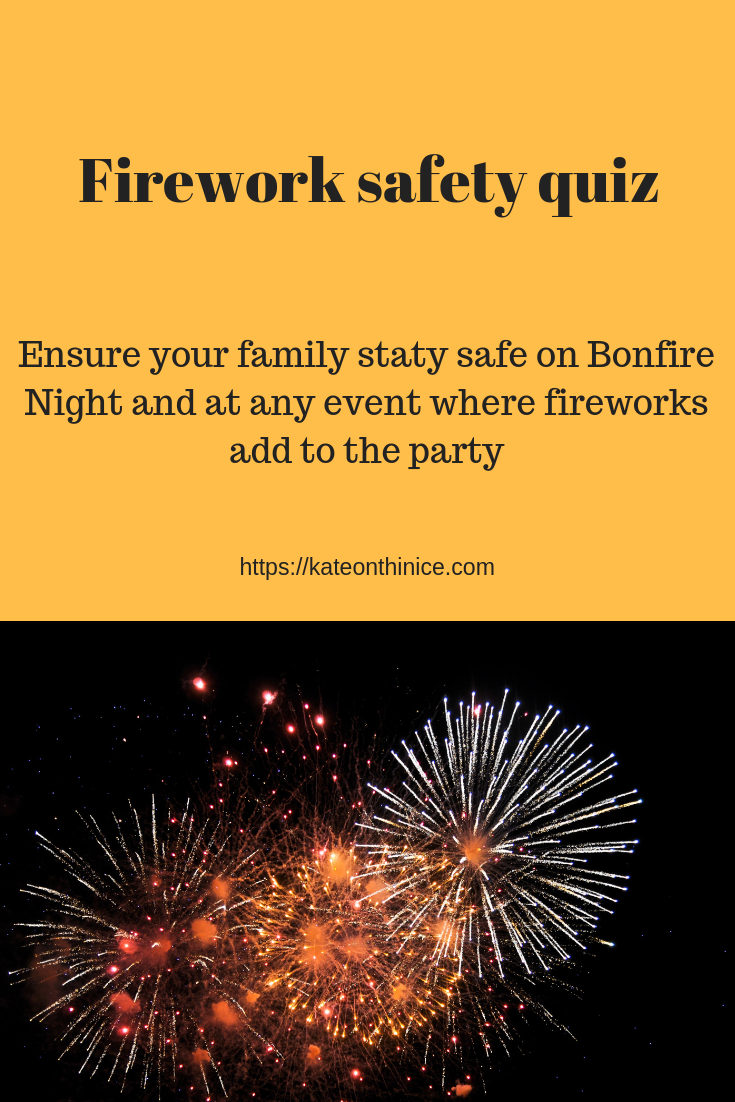 Firework Safety Quiz