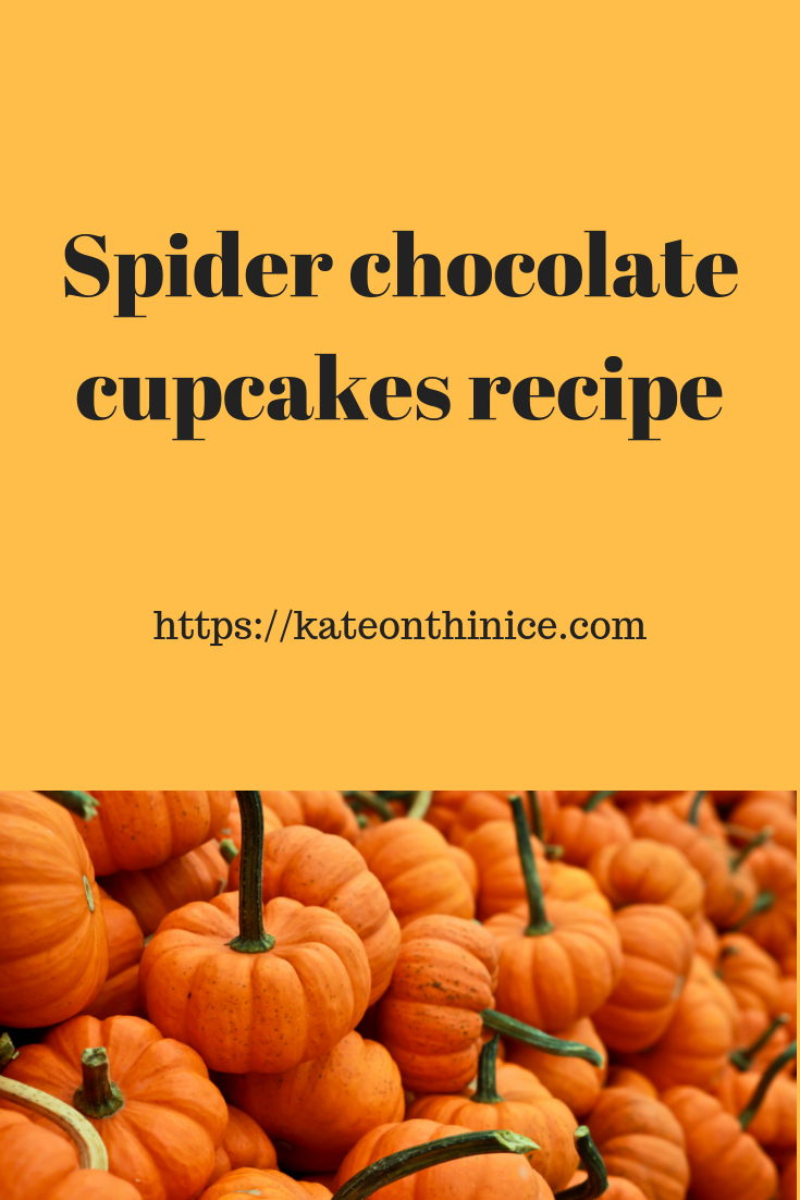 Spider Chocolate Cupcake Recipe