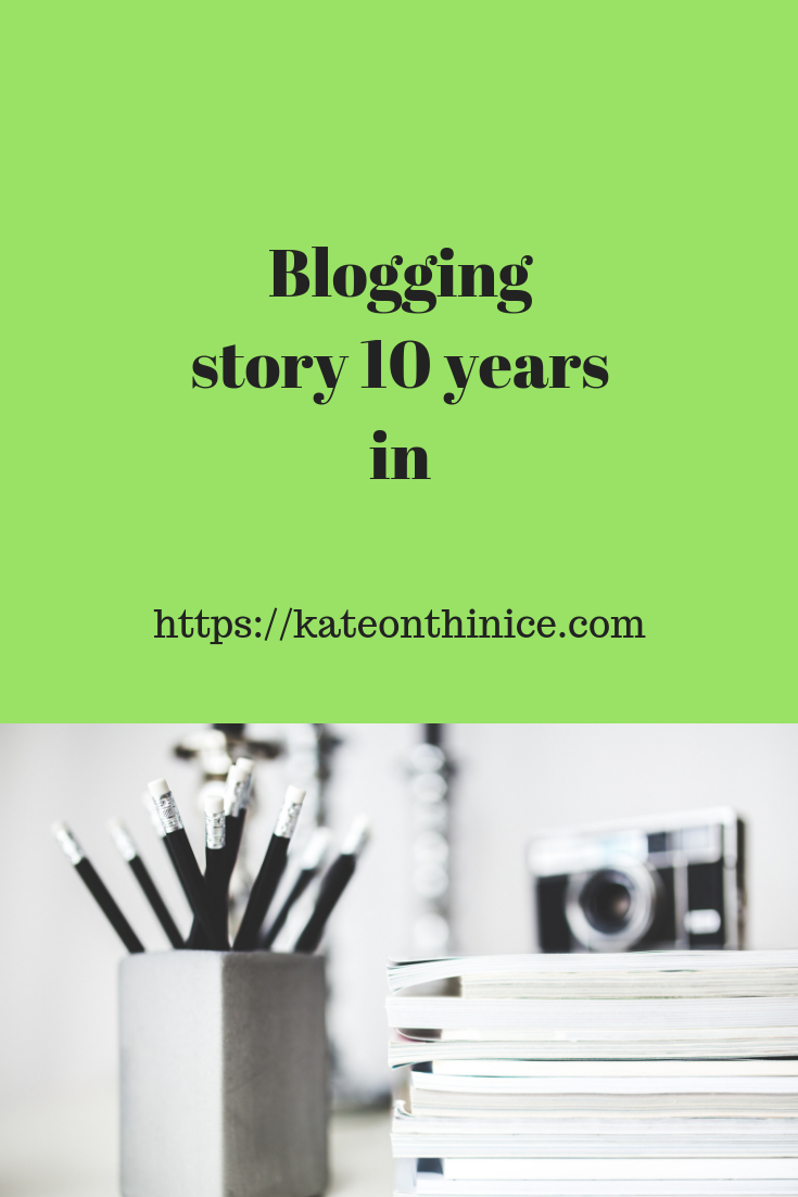 Blogging Story 10 Years In