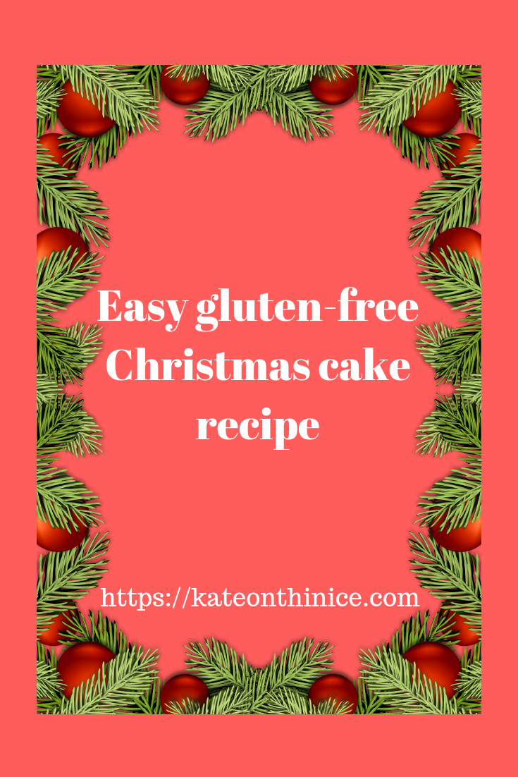 Easy Gluten-Free Christmas Cake Recipe