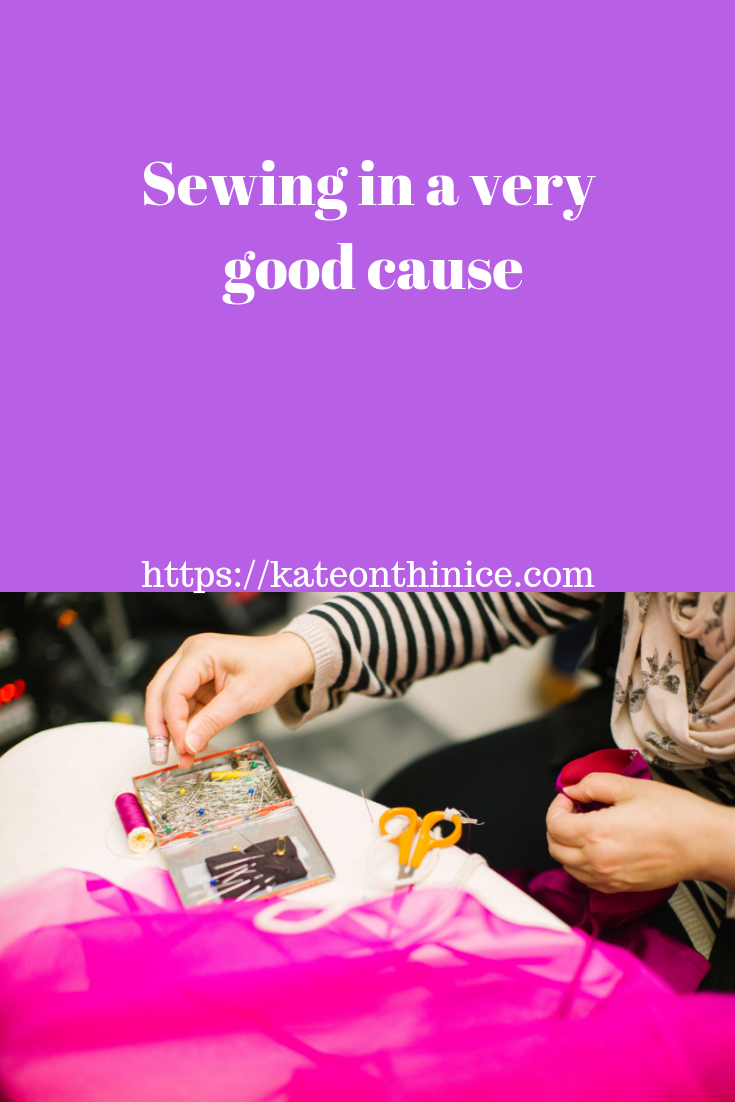Sewing In A Very Good Cause