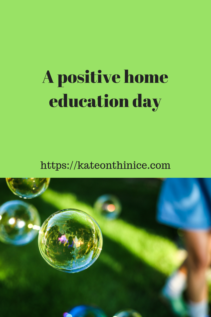 A Positive Home Education Day