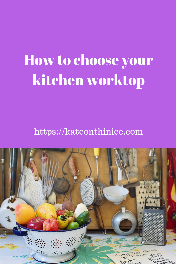 How To Choose Your Kitchen Worktop