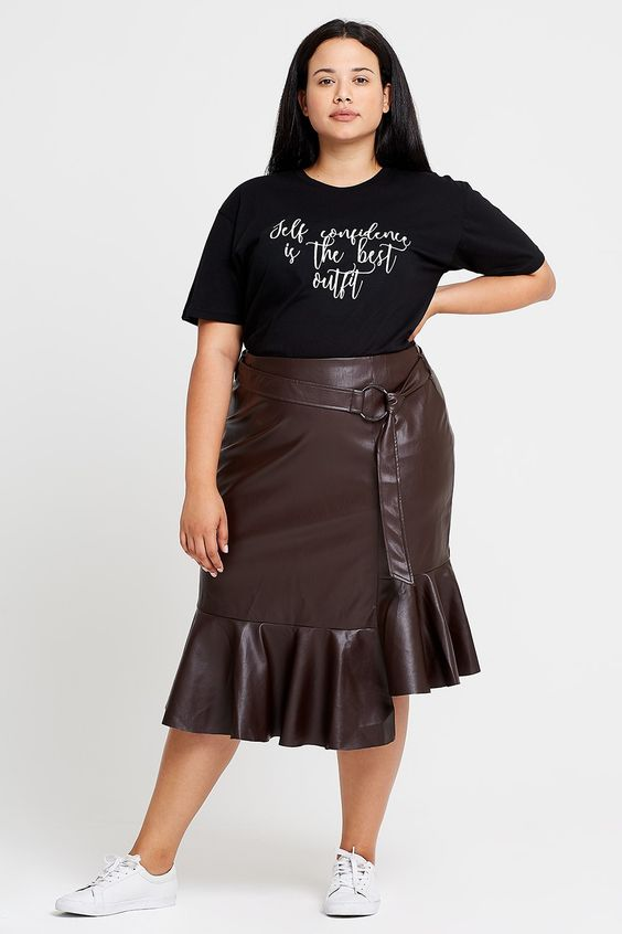 Perfect Faux Leather Skirt