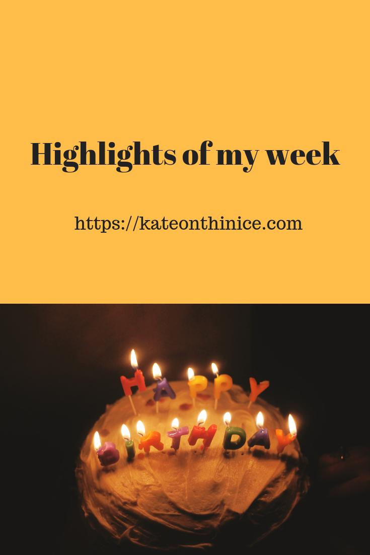Highlights OF My Week